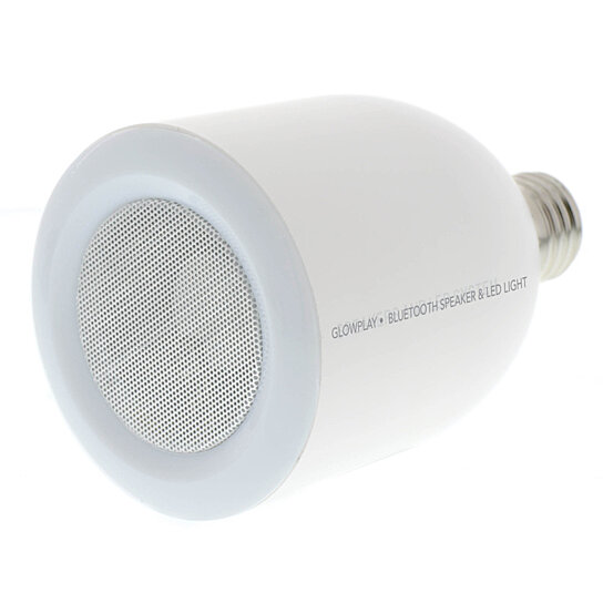 Vanity With Lights And Bluetooth : Buy Glow Play LED Light Bulb with Bluetooth Speaker - White by Vanity Planet on OpenSky