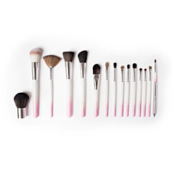 Vanity Planet Palette 15-Piece Professional Makeup Brush Collection