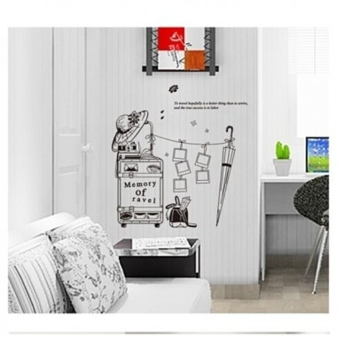 Buy Travel Home Room Decor Removable Wall Sticker Decal