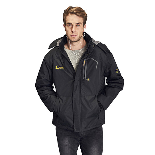 Buy Men's Waterproof Mountain Jacket Fleece Windproof Ski Jacket ...