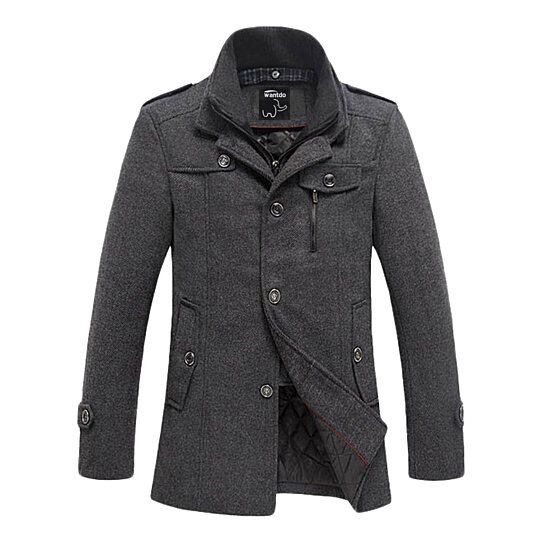 Buy Men's Wool Coats & Pea Coats by Wantdo Fashion on OpenSky