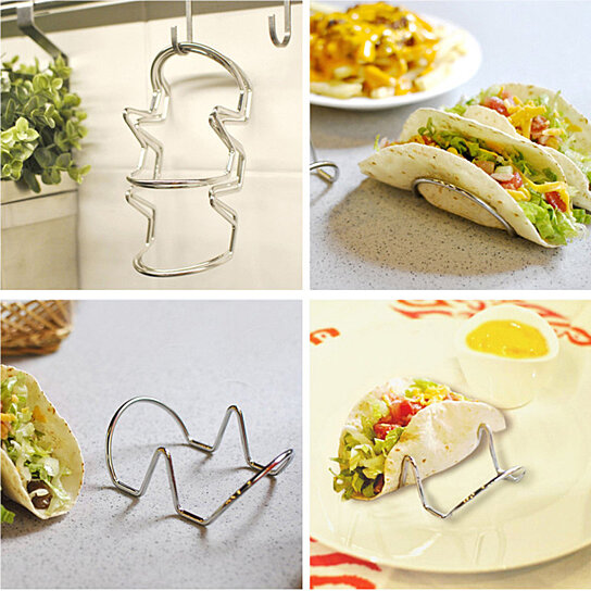 Buy Wave Shape Stainless Steel Wire 1 Or 2 Taco Shell