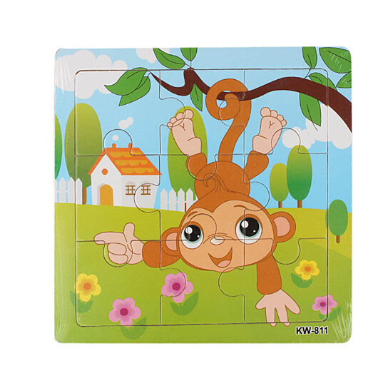 Buy Wooden Monkey Jigsaw Toys For Kids Education And ...
