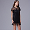 Mini Lace Shift Dress, S-2X