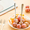 Stainless steel fruit fork / fruit sign small fork cutlery