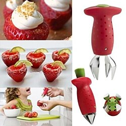 Strawberry Stem Leaves Huller Remover Removal Fruit Corer