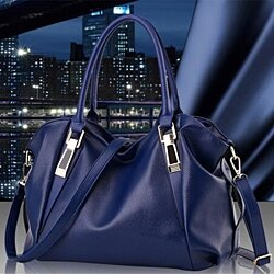 Women's Fashion Leather Classic Handbag Single Shoulder Bag Inclined Shoulder Bag ( 6 Colors )