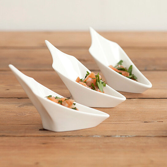 Buy angler canape plate by wearevessel on opensky for What is a canape plate used for