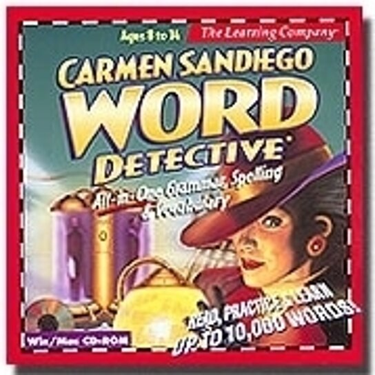 Buy Carmen Sandiego Word Detective By Wearoffyoursandals