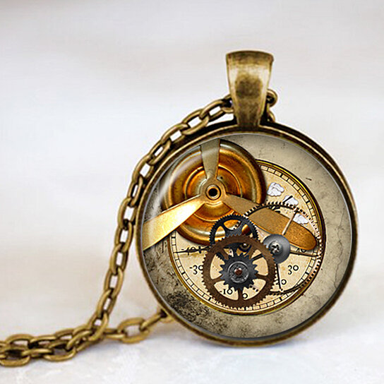 Ring In The Steampunk Decor To Pimp Up Your Home: Buy Whimsical Steampunk Geekery Gears Vintage Steam Punk