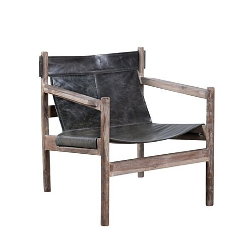 Nolan Sling Chair - Charcoal
