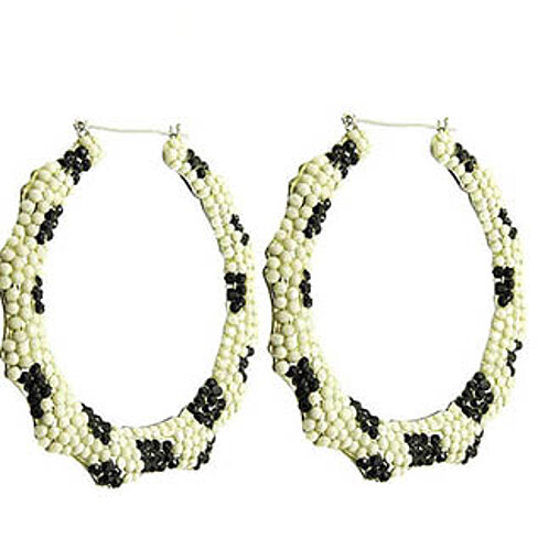 buy nickel and lead compliant earring black and white by