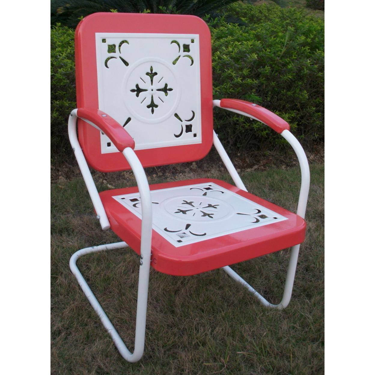 Metal Chair Retro 58995192c98fc433fb5822a6