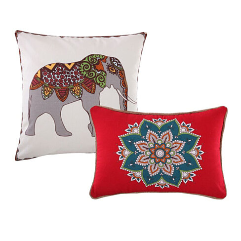 Artistic Bohemian Dream Decorative Pillow Set