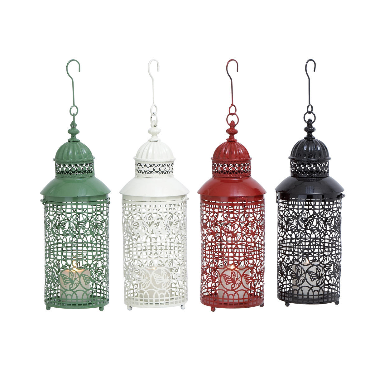 Metal Candle Holder With Four Assorted Colors 58995287c98fc433fa2338b0
