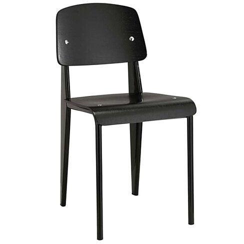 Black Cabin Dining Side Chair