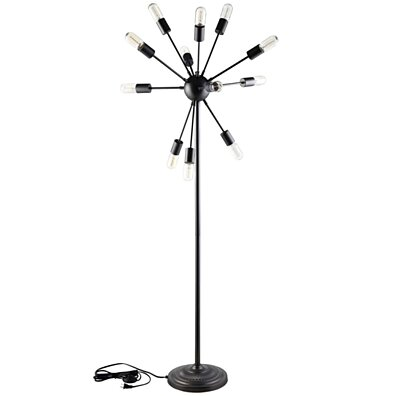 Black Spectrum Floor Lamp