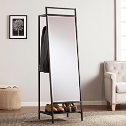 Drake Mirror Hidden Coat Rack