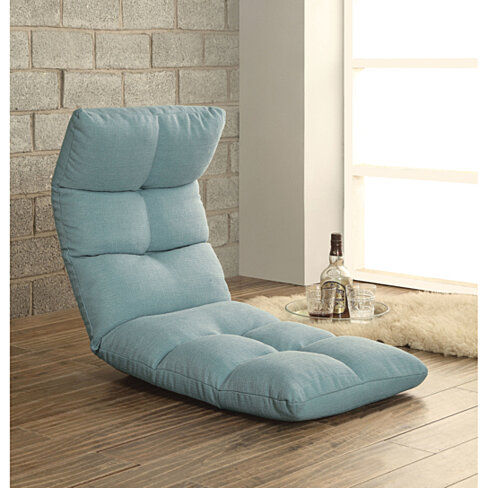 Enthusiastic Metal & Fabric Game Chair, Blue
