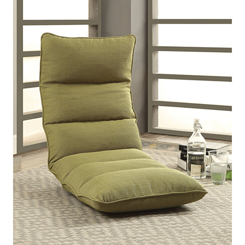 Enthusiastic Metal & Fabric Game Chair, Green