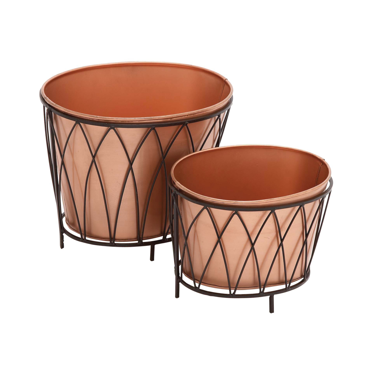 Exclusive Styled Metal Oval Planter 59fae3012a00e463e169ae00