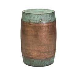 Durable Rania Copper-Plated Stool