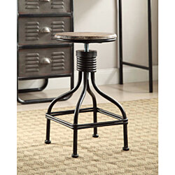 LOCKER COLLECTION Swivel Stool