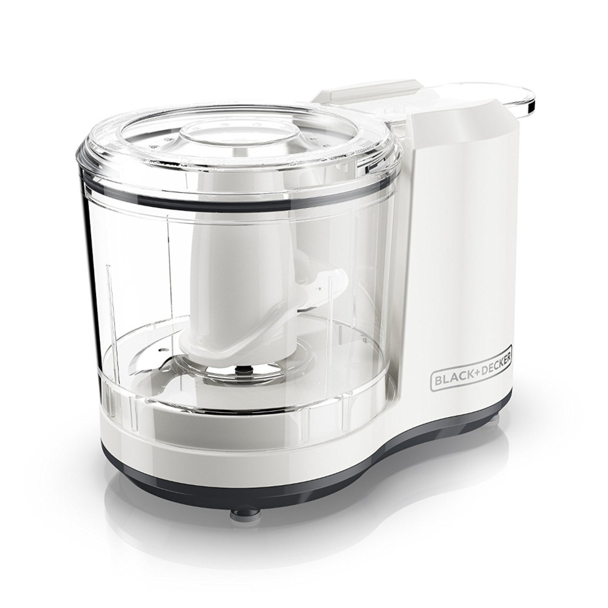 One-Touch 1.5 Cup Capacity Electric Food Chopper with Improved Assembly & Lid 589955fcc98fc433fa23b4e5
