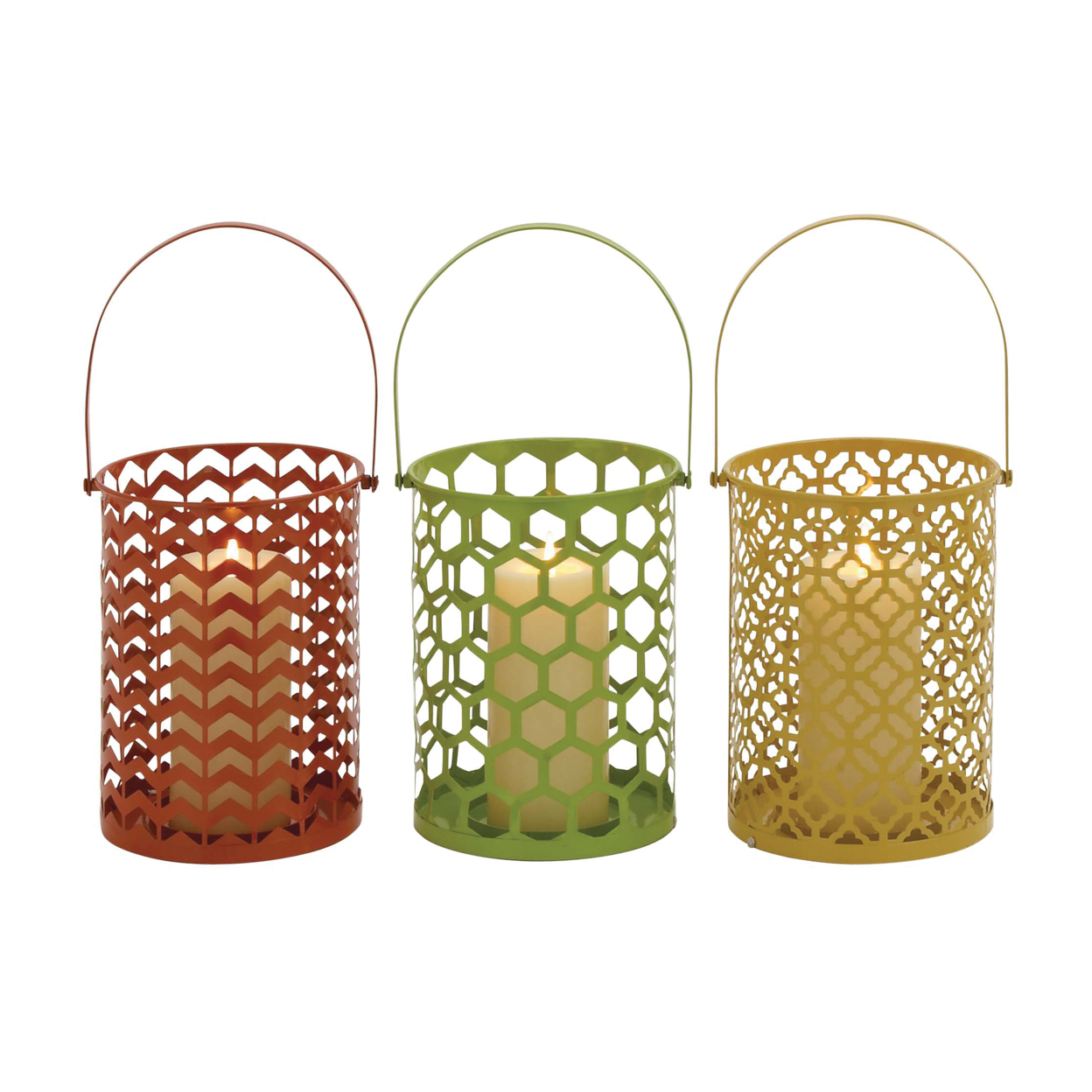 The Stunning Metal Candle Basket 3 Assorted 59c2457ce224615b7a1241ff