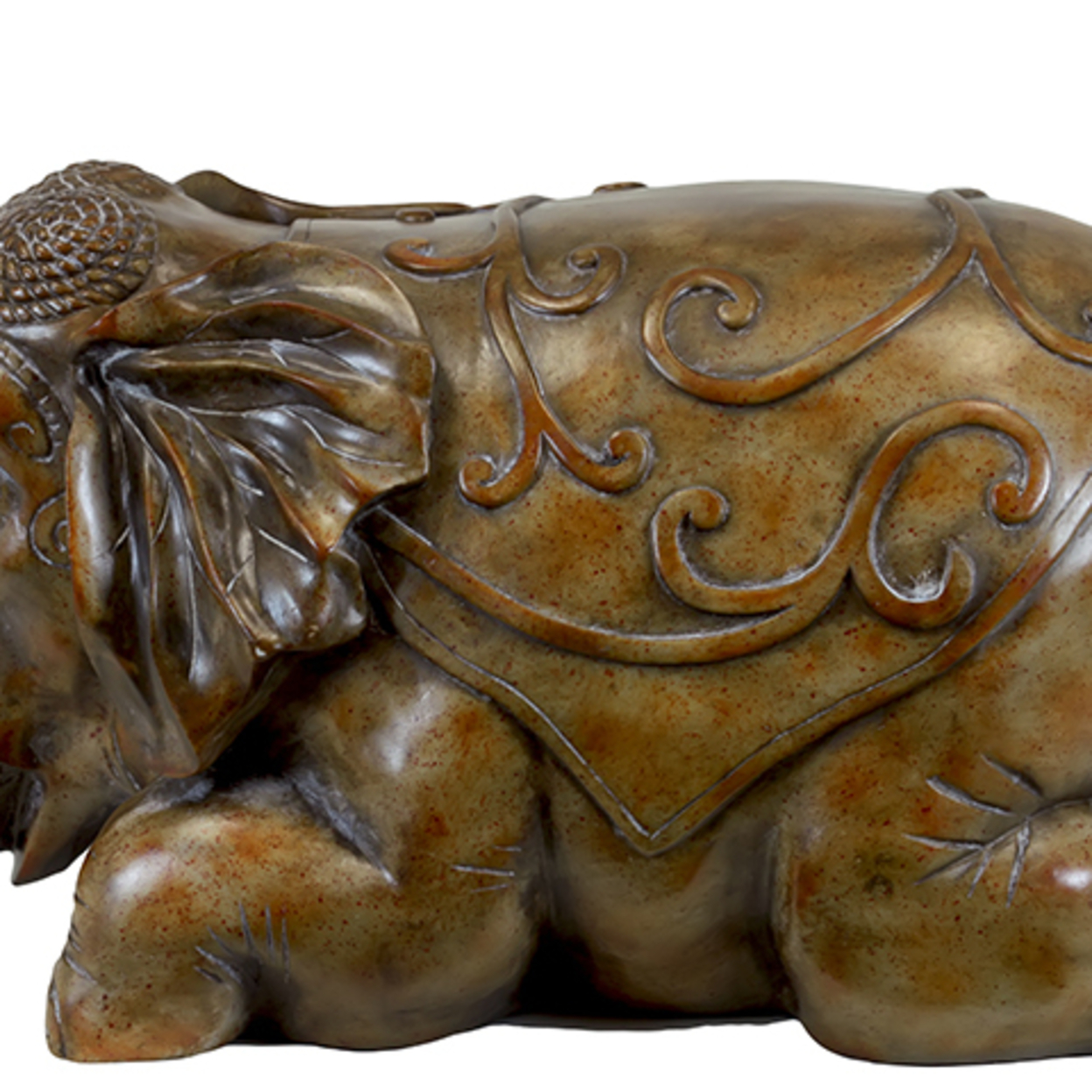 Tokyo's Resin Attractive Sitting Elephant Statue 58995707c98fc41ef3345f01