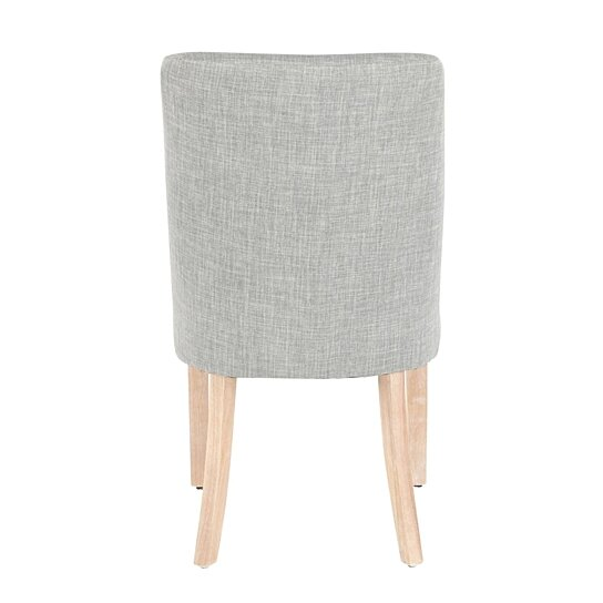 Buy Tori Farmhouse Dining Chair in White Washed Wooden ...