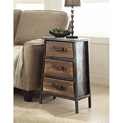 Urban Collection 3 Drawer Chest