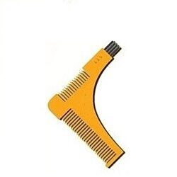 Wild Wayz Beard Styling and Shaping Template Comb