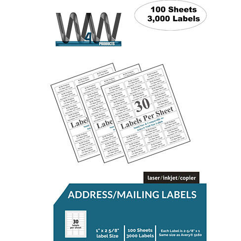buy high quality name and address mailing labels 30 With high quality address labels