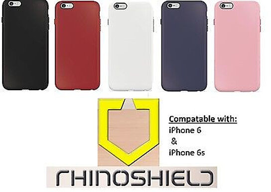 online store cd02c ce1ab RhinoShield 6 /6s PlayProof Case for iPhone w/ SHOCKSPREAD Technology -  Assorted Colors