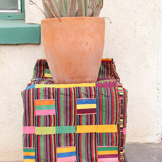 Buy ewe kente cloth from ghana africa vintage 1970 39 s for Interior decoration ghana