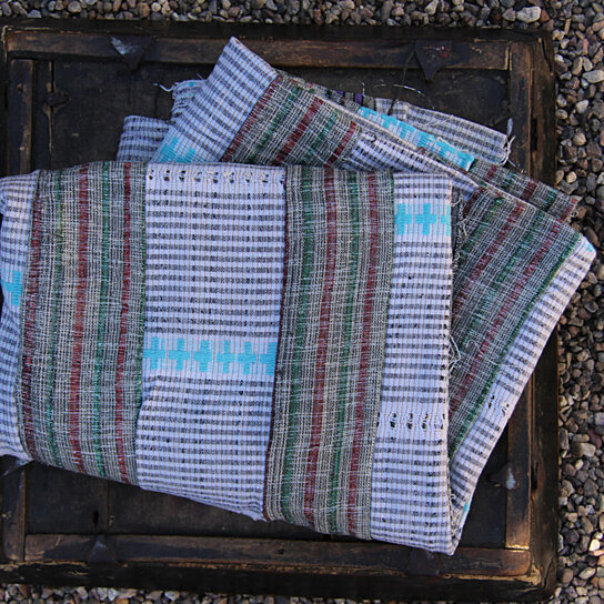 Buy spring solstice vintage aso oke tribal textile for Yoruba architecture