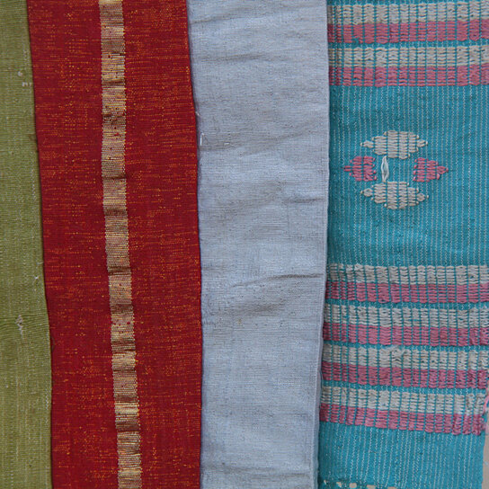 Buy Spring Stripes Wall Hanging, Design, Fabric Vintage