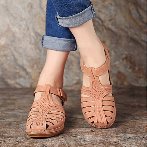 Retro Clog Walking Sandals, Multiple Colors, 4.5-11