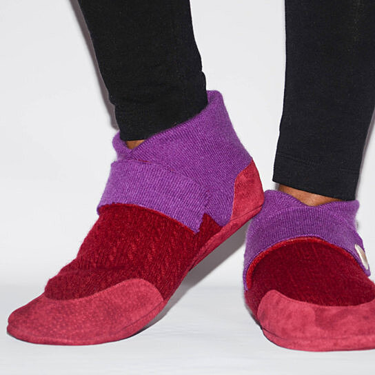 Eco Friendly Slippers: Buy Women Cashmere Slipper Shoes, Women Leather Shoes, Eco