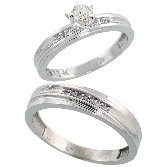 White Gold Wedding Rings For Her 016 - White Gold Wedding Rings For Her