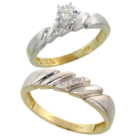 unique wedding ring sets for him and her jewelry ideas. Black Bedroom Furniture Sets. Home Design Ideas