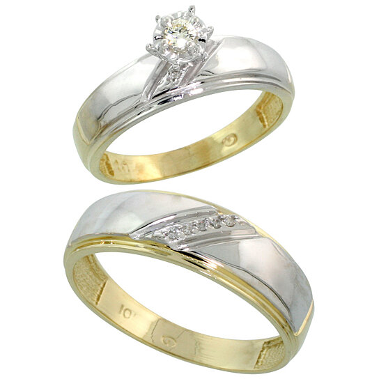 buy k yellow gold piece diamond wedding engagement