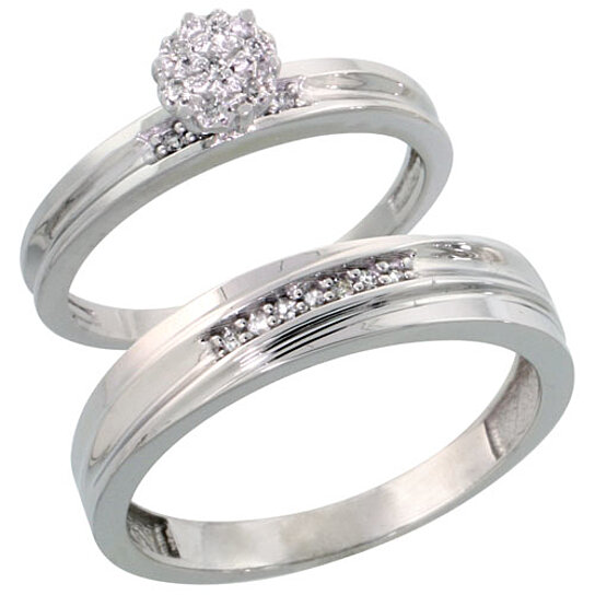 buy sterling silver 2 wedding engagement