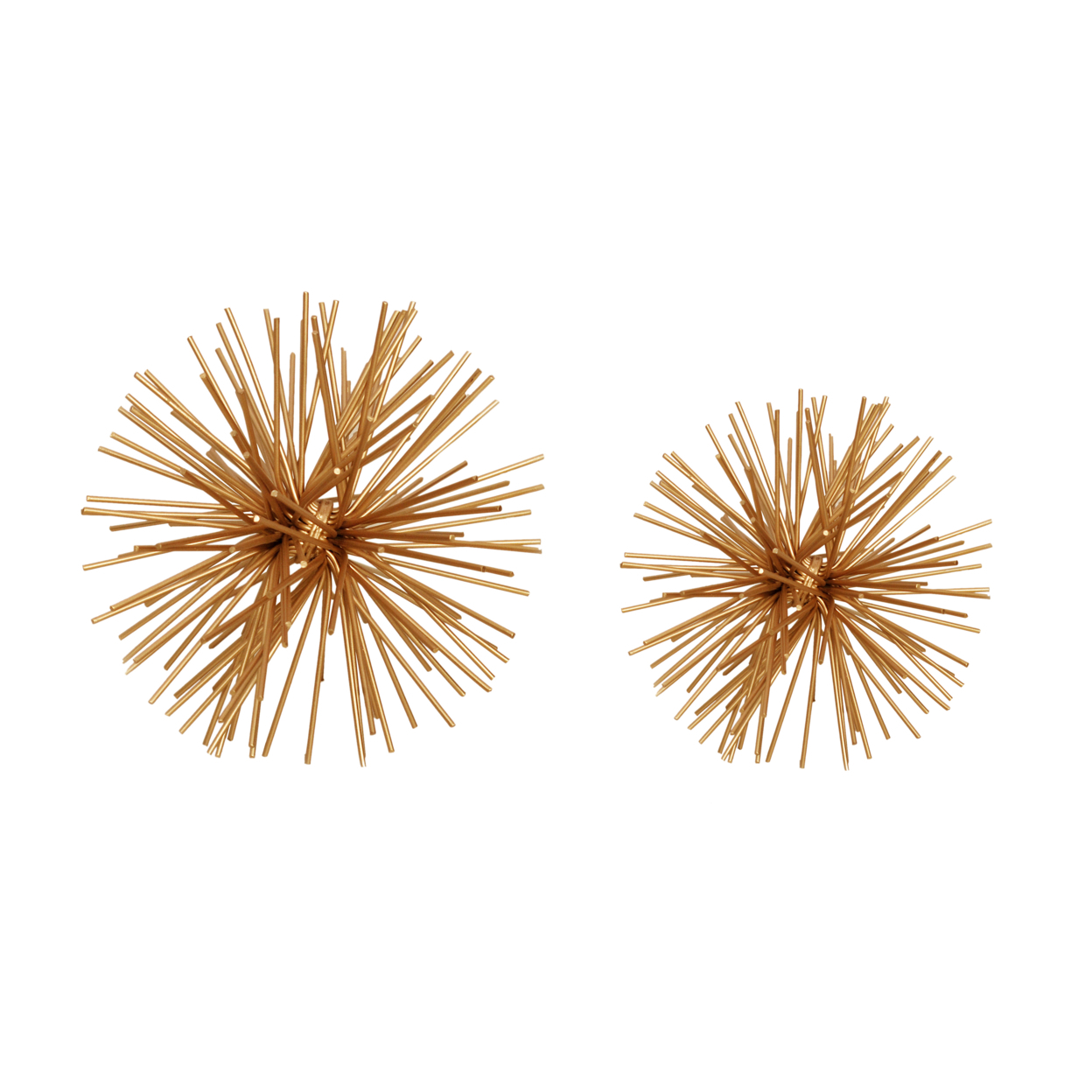 Spikes Ball Gold SET OF TWO 58d1b8f22a00e44d50762abc