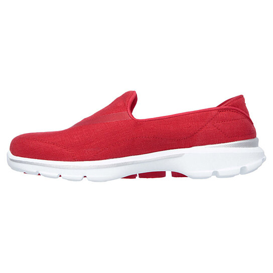 Red Skechers Go Walk Shoes