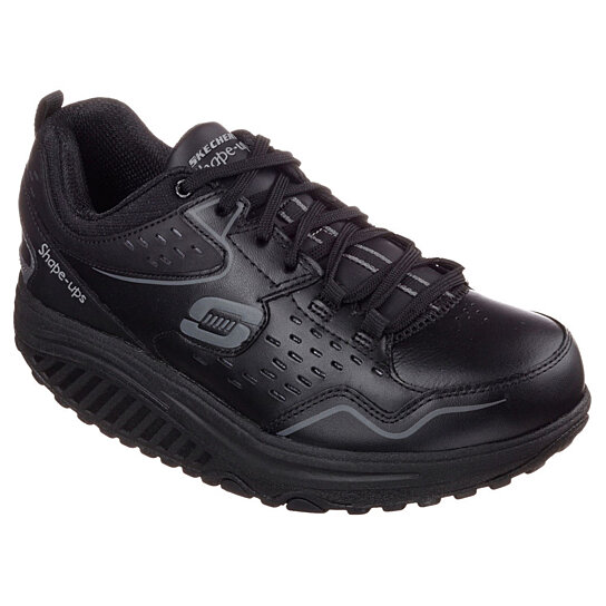 Skechers Leather Shoes Women Outdoor