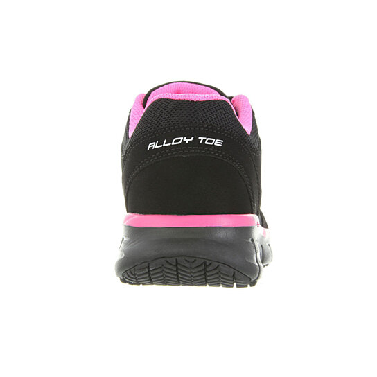 buy 76553 black pink skechers shoes work memory foam