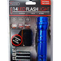 Sentry LED Flashlight With Case