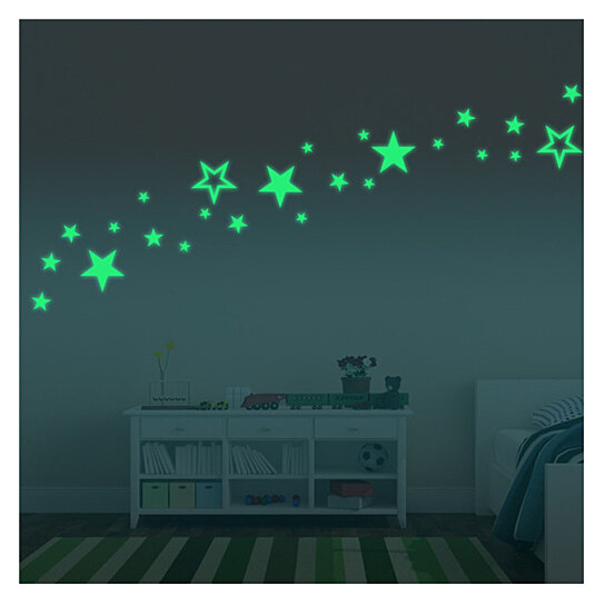 Luminous Wall Stickers Creative Luminous Star Ceiling Decoration for  Children\'s Bedroom